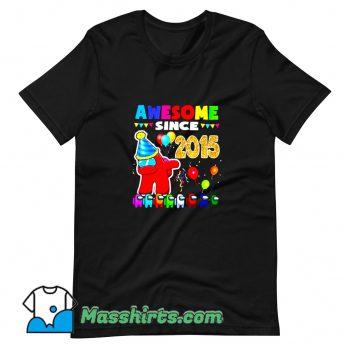 Best Disstressed Level 6 Among Dabbing T Shirt Design