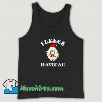Best Fleece Navidad Feliz Sheep Christmas Tank Top