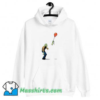 Best Zombie And Baloon Hoodie Streetwear