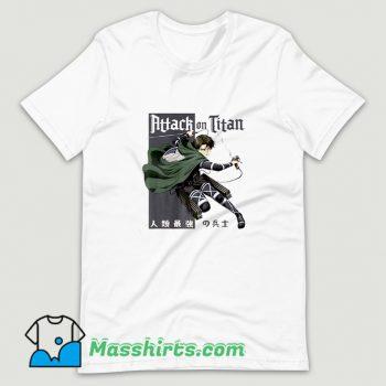 Classic Attack On Titan Season 4 T Shirt Design