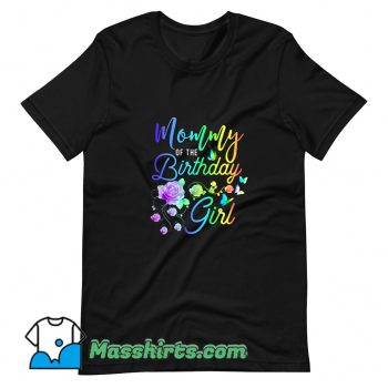 Classic Mommy Of The Birthday Girl T Shirt Design