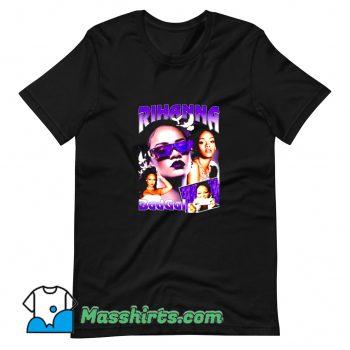 Classic Rihanna Bad Gal Rap Photos T Shirt Design