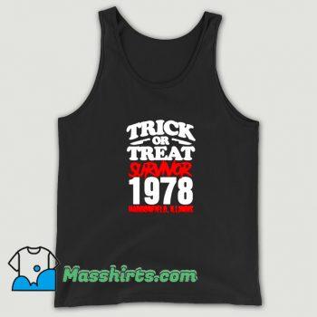 Classic Trick Or Treat Survivor 1978 Tank Top