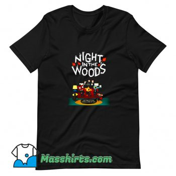 Cute Night In The Woods T Shirt Design