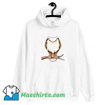 Easy Owl Costume Owl Body Headless Hoodie Streetwear