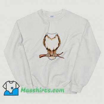 Easy Owl Costume Owl Body Headless Sweatshirt