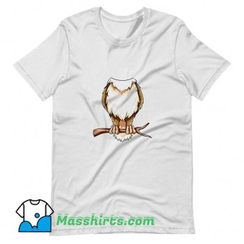 Easy Owl Costume Owl Body Headless T Shirt Design