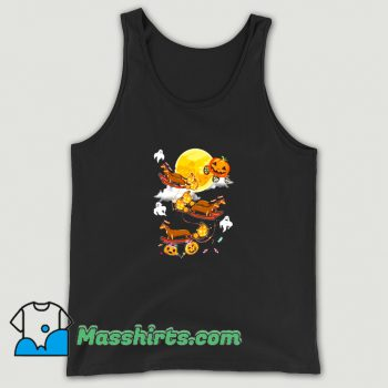 Happy Halloween Dachshund Witch Dogs Tank Top