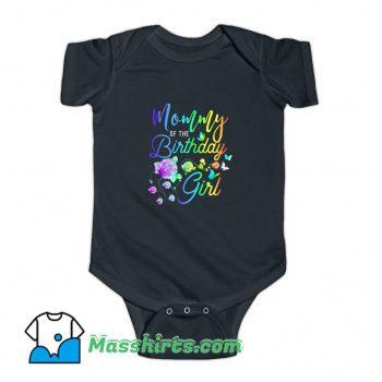 Mommy Of The Birthday Girl Baby Onesie