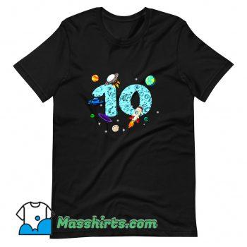 New 10 Years Old Birthday Boy T Shirt Design