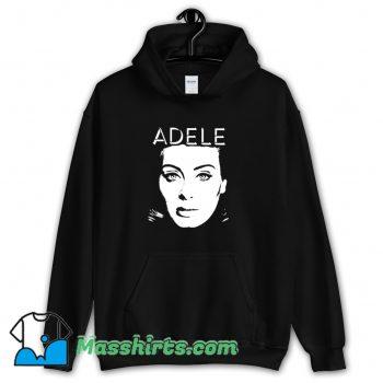 New Adele Face Hoodie Streetwear