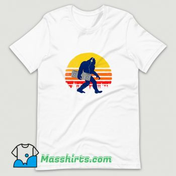 New Bigfoot Dj T Shirt Design