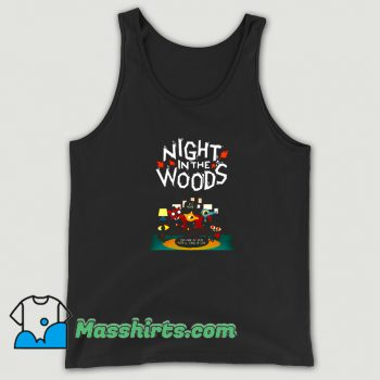 Night In The Woods Tank Top On Sale