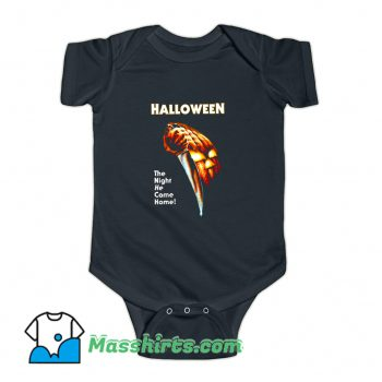The Night He Came Home Movie Baby Onesie