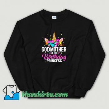 Vintage Godmother Of The Birthday Princess Sweatshirt