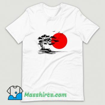 Vintage Japanese Bonsai Tree T Shirt Design