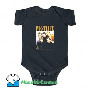 Westlife Band Photos Baby Onesie